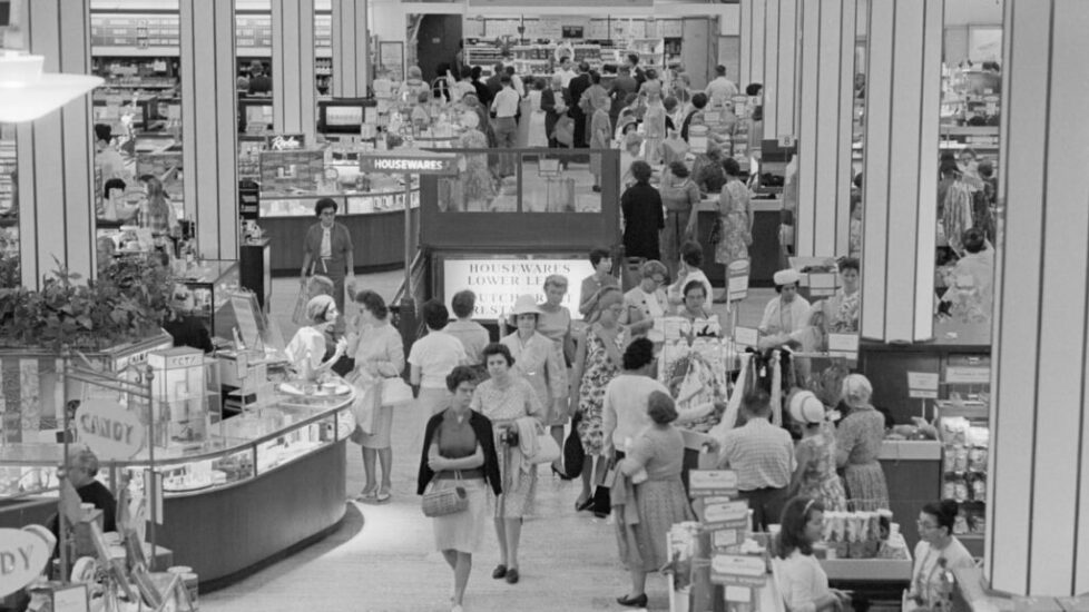 Department stores were the original retail startups. Now they're headed for the grave