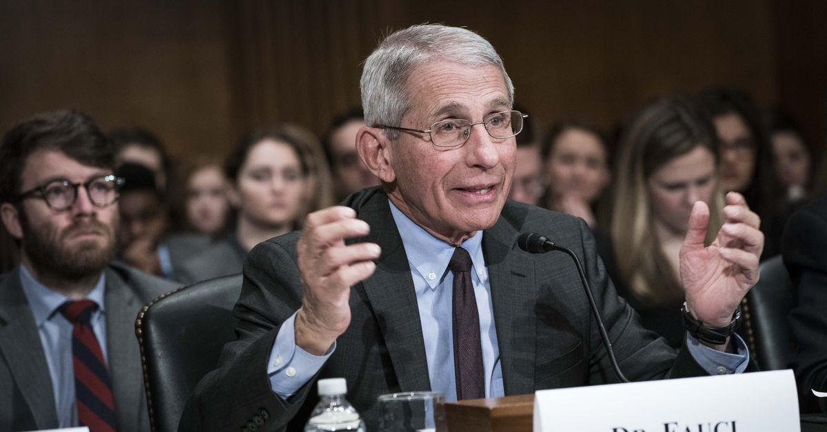How Anthony Fauci became the face of the pandemic– and its merch